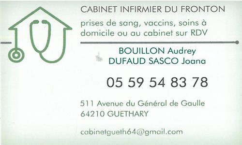 CABINET INFIRMIER DU FRONTON