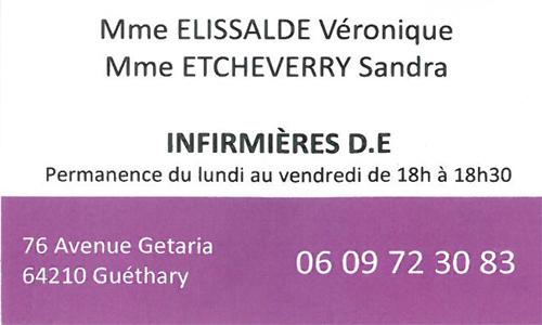Mme ELISSALDE Véronique et Mme ETCHEVERRY Sandra
